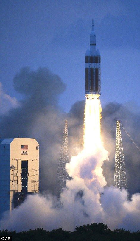 Buzzing: The atmosphere at Kennedy Space Center was reminiscent of the shuttle-flying days...