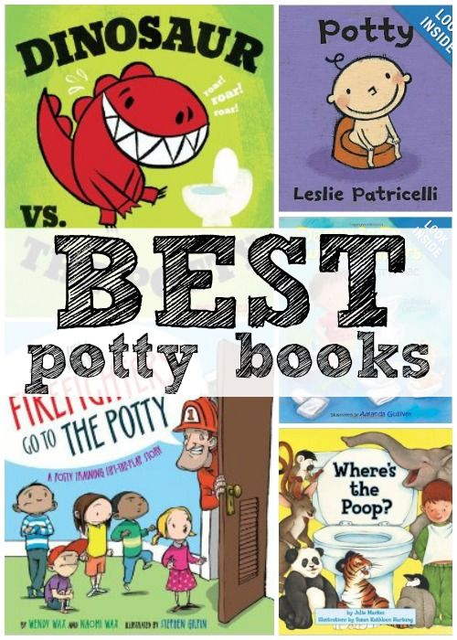 5 Great Potty Training Books via Tipsaholic. #potty #training #kids