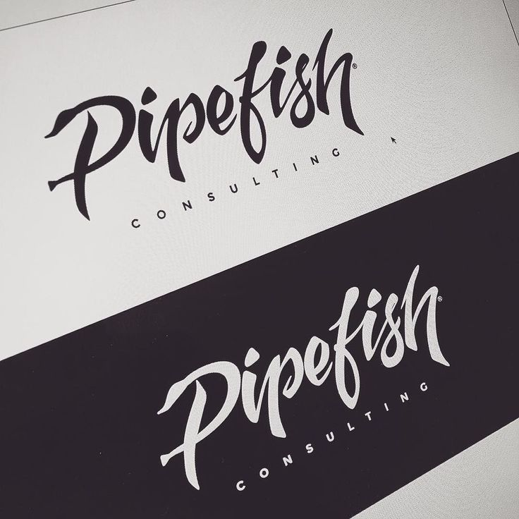 "Finally got around to finish the logo for my brothers diving biz. Turned out decent considering I'm no lettering/calligraphy artist. And yes that's a pipefish in the ""P"". by dannenelson"
