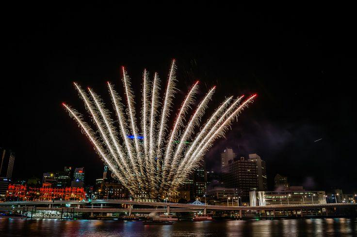 Fireworks for Buddha's Birthday Festival Brisbane
