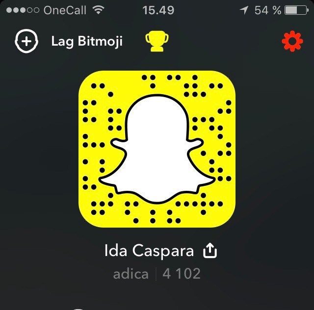 My snap: adica