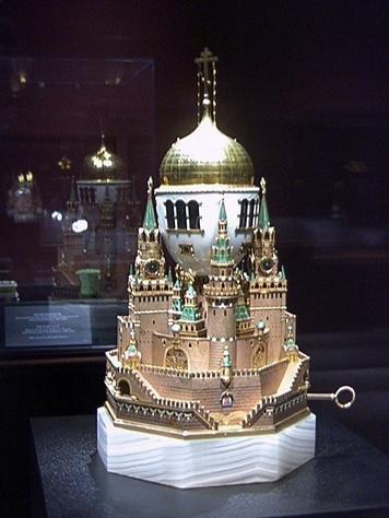 The Kremlin Faberge Egg