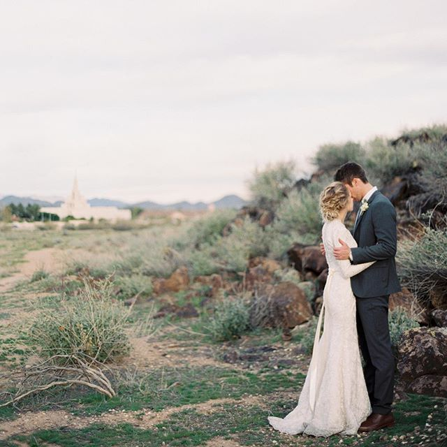 I'll leave you with a dreamy Phoenix LDS temple wedding sneak peek!! #contax645…