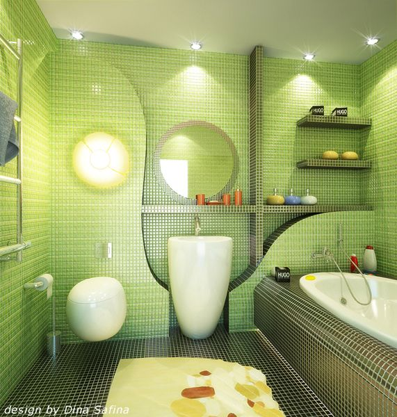 Superb Inspiration Small Bathroom Design Ideas Color Schemes With Ideas Blending  Green Color Into Interior Design Bathroom Color Schemes On Bathrooms