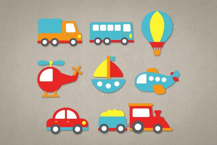 *** Copie e cole este link no navegador para conhecer todos os produtos deste tema em nossa loja: http://www.elo7.com.br/tema-meios-de-transporte/al/8BBD0 ***    Os meios de transporte são confeccionadas em papel color plus e possuem fita banana no verso para colar na parede ou onde desejar. Toda...