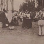 Group of Romanian dancers in 1920