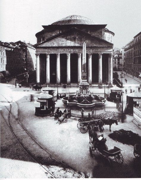 The Pantheon in Rome was first commissioned by Marcus Agrippa as a temple to all the gods of pagan Rome. Having burnt to the ground in 80 AD and was rebuilt by Hadrian in 126 AD. The Pantheon has been in use ever since, being used as a Catholic Church since the 7th century.