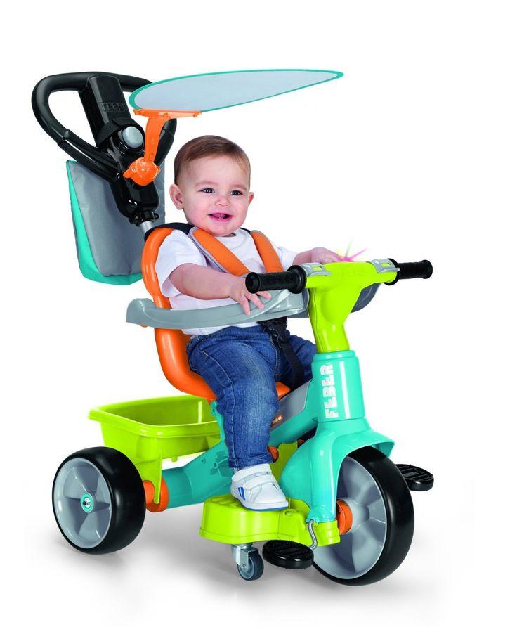 Triciclo Feber Baby plus Music 360º verde. 700012260, IndalChess.com Tienda de juguetes online y juegos de jardin