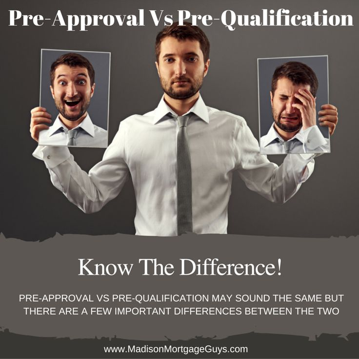 What is a mortgage pre-approval vs pre-qualification? There are many reasons to know the difference between being pre-approved and pre-qualified! https://www.madisonmortgageguys.com/pre-approval-vs-pre-qualification/