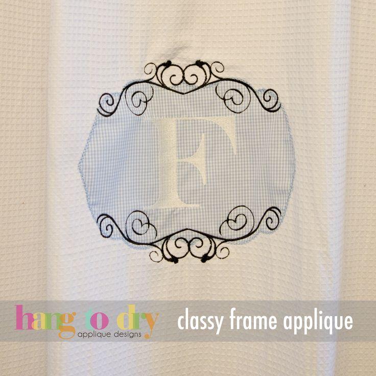 Hang to Dry Applique - Preppy Monogram, $9.99 (http://www.hangtodryapplique.com/preppy-monogram/)