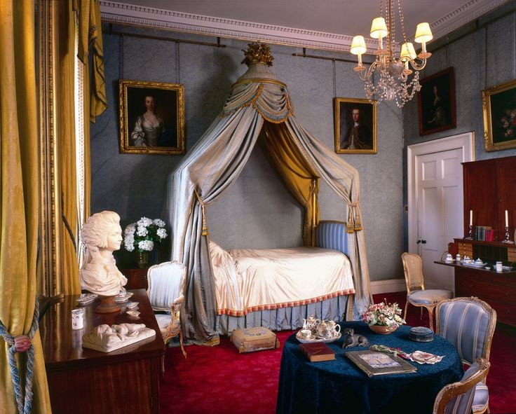 Attractive Victorian Bedroom | Syon House (Greater London): Adam As Interior Decorator  Of The Good Looking