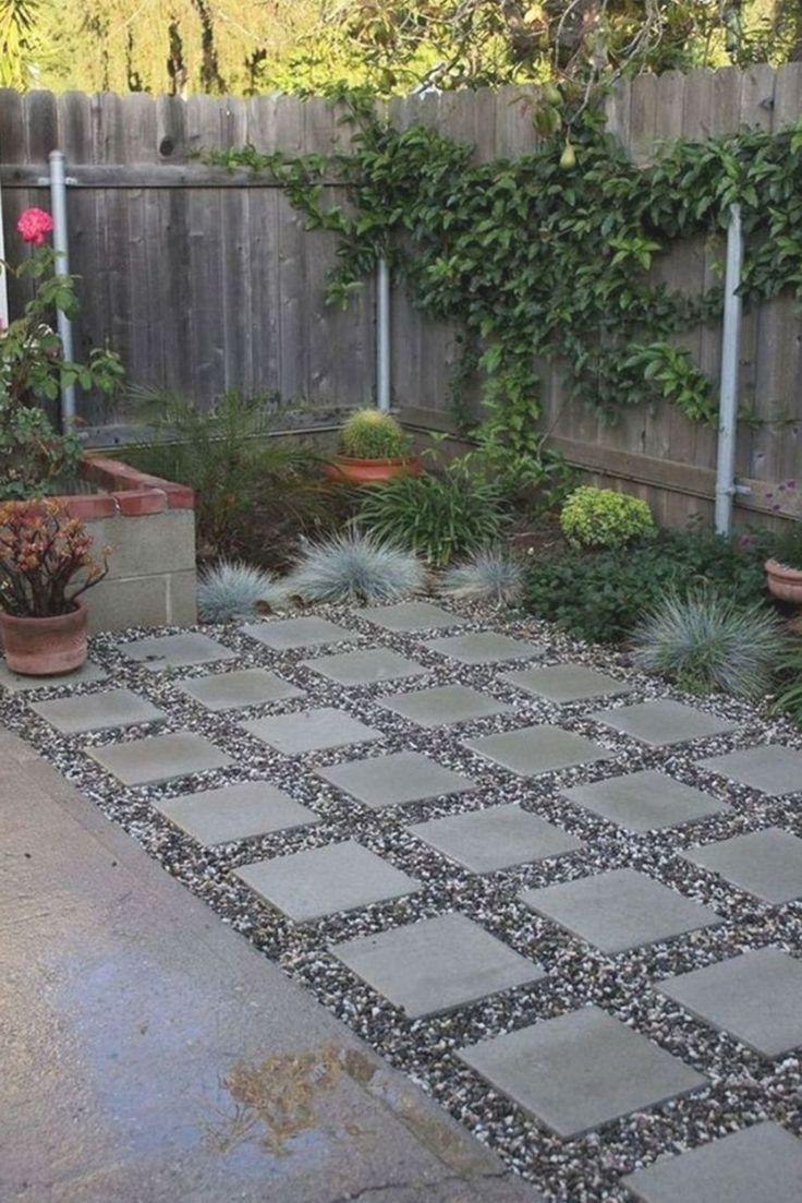 40 Stunning Home Backyard Landscaping With Paving Ideas Pertamanan Belakang Rumah Batang Pohon Desain Backyard landscaping ideas with pavers