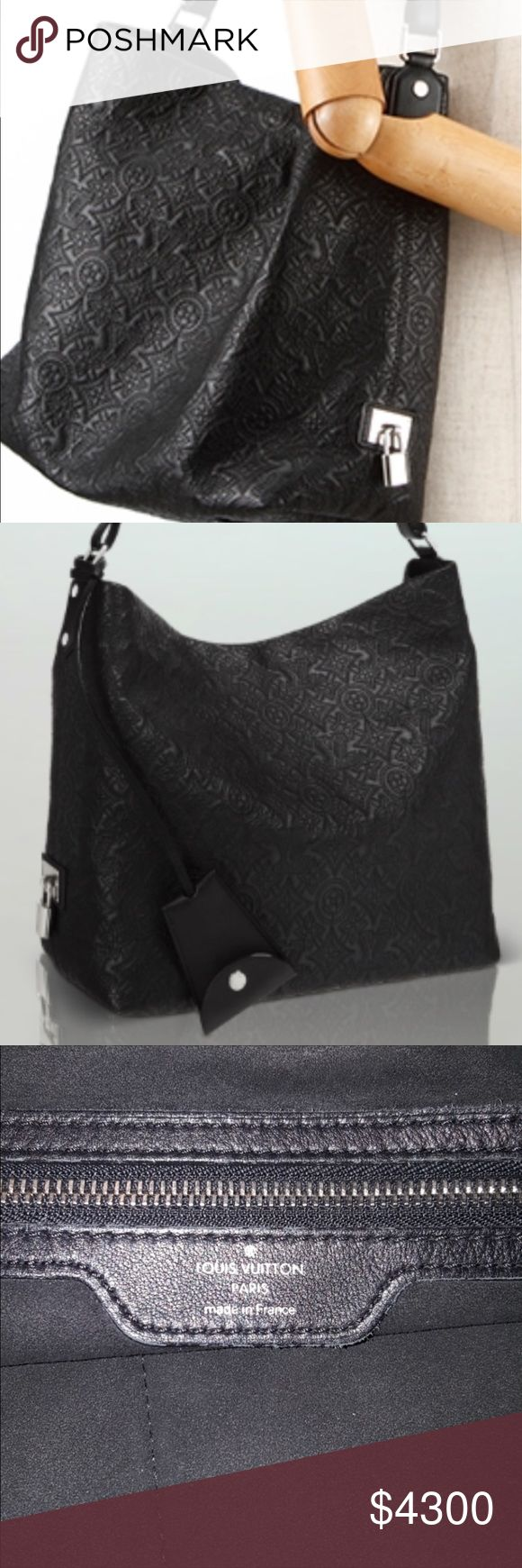 Rare- Noir Authentic Louis Vuitton Anthea HOBO GM Authentic Louis Vuitton Anthea ANTHA GM Hobo in Noir. All photos online are for taupe or PM. See size reference in last photo or 2nd listing. This is the only Black GM authentic Louis Vuitton HOBO online today for sale- Keep that in mind when making offers please - Black Anthea GM retails higher than taupe. Great condition inside and out. Has been well cared for. (Will lower price but ok to offer- not in hurry to let this baby go!) 💎I trade…