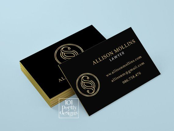 Golden Business Card Lawyer Business Card Design Black Gold Business Card Printable Attorney Business Card Design Black Lawyer Business Card Gold Business Card