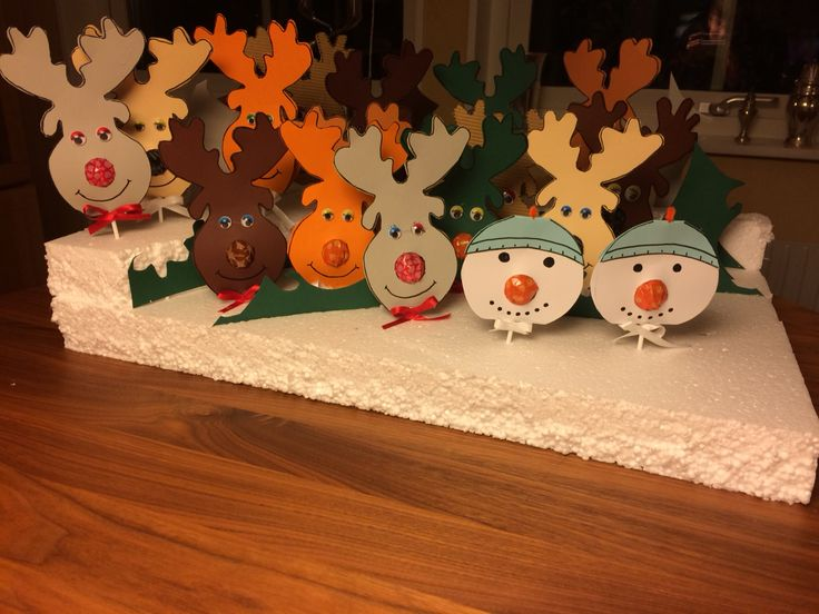 Slikpinde til salg i julebod