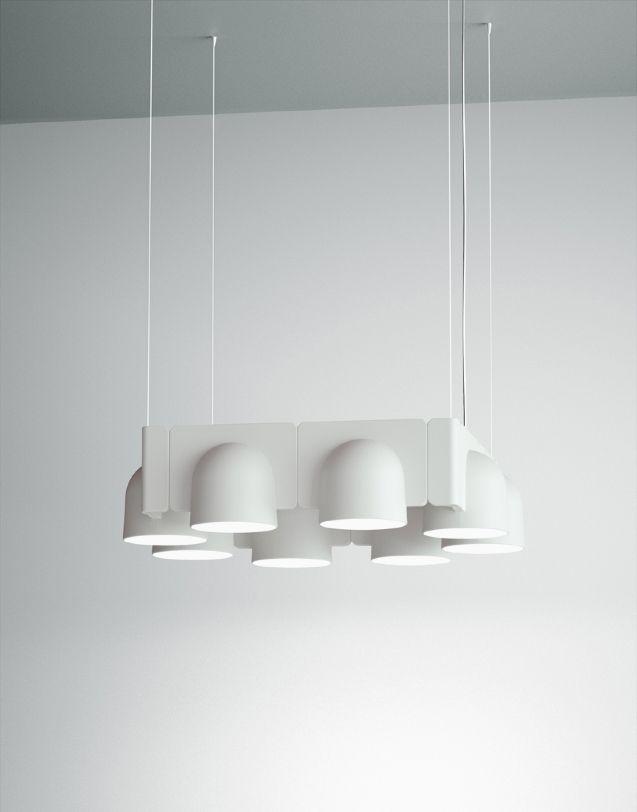 Studio Klass Designs Modular IGLOO Pendant System For Fontana Arte · Lego LampLighting  CompaniesDesign ...