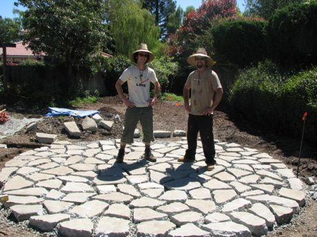 Nice 84 Best Backyard Hardscape Materials Images On Pinterest | Recycled  Concrete, Broken Concrete And Backyard Ideas