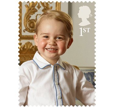 Prince George's First Stamp Is Unbelieveably Cute
