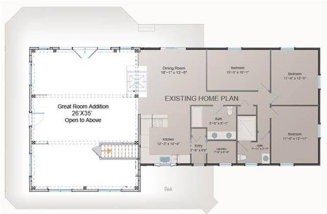1000 ideas about home addition plans on pinterest home for Room addition blueprints