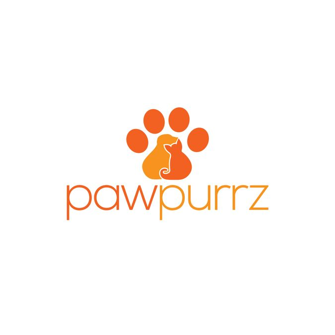 Create a unique pet logo for pawpurrz! by rebecca777