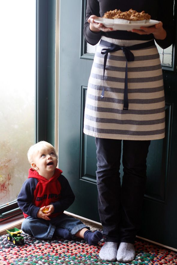 How to Make a Tea Towel Apron