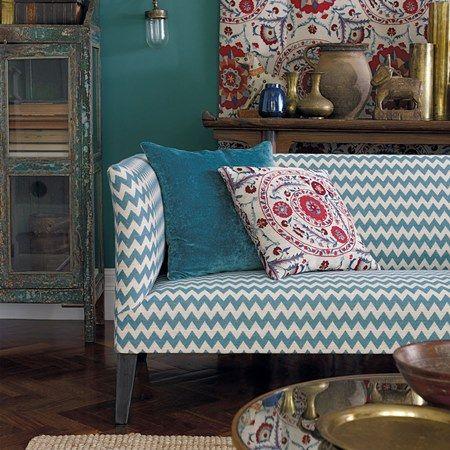 Lakástextil - függöny és bútorszövet | Sanderson Sojourn Weaves kollekció | Zagora textil