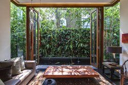 Back in 2001, the Owner, Mr Adrian Tan, commissioned Aamer to design his house(s) at No 42. There a large bungalow plot was divided into two to accommodate separate but identical houses which won the prestigious Singapore Institute of Architects'...