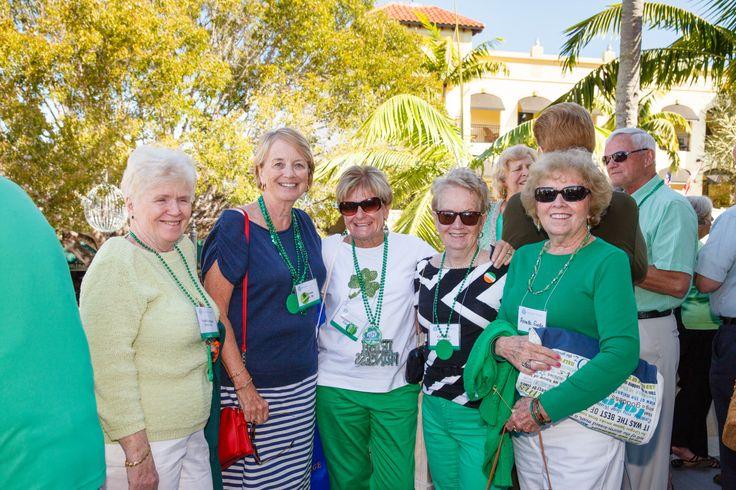 Emmanuel College Alumni St. Patrick's Event | Naples, FL | 3.15.14 - Judith Kerrigan Norton'61, Anne Dynan Metrick'66, Margaret Curran Elson '65, Carolyn Hashey '67, Annette Goode