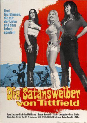 Faster, Pussycat! Kill! Kill! German one sheet poster.