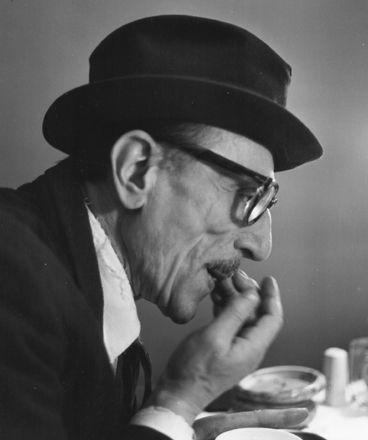 Eduardo De Filippo - foto Ugo Mulas