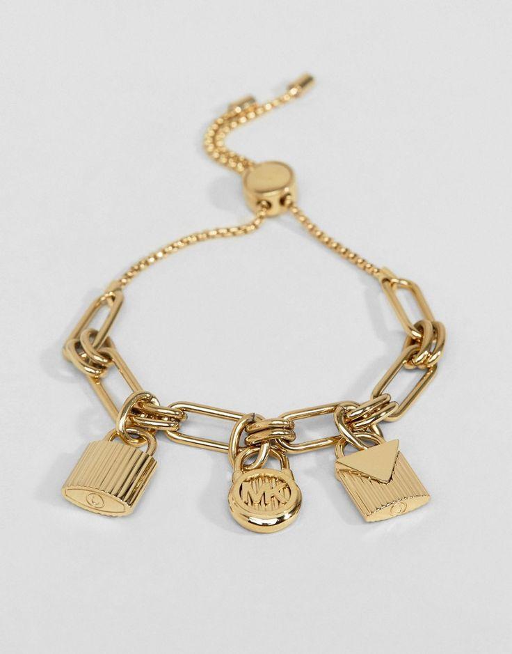 Michael Kors - Bettelarmband - Gold Jetzt bestellen unter: https://mode.ladendirekt.de/damen/schmuck/armbaender/goldarmbaender/?uid=d855f90c-84ca-5324-8851-2e01cb159950&utm_source=pinterest&utm_medium=pin&utm_campaign=boards #schmuck #goldarmbaender #armbaender #armbänder #uhren #female