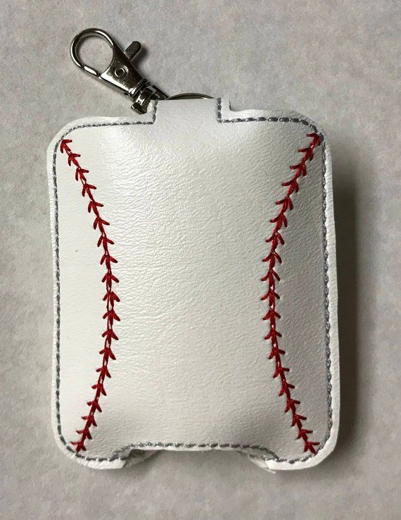 Hand Sanitizer Holder Multi Deal Hand Or Case Baseball