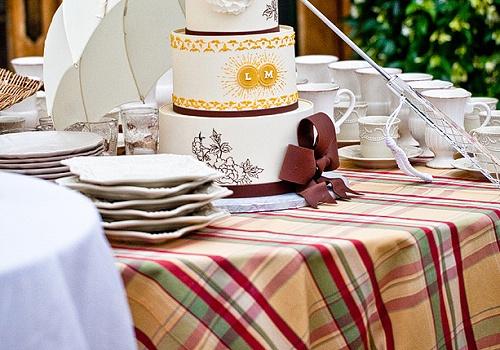 #casamento #xadrez #toalha