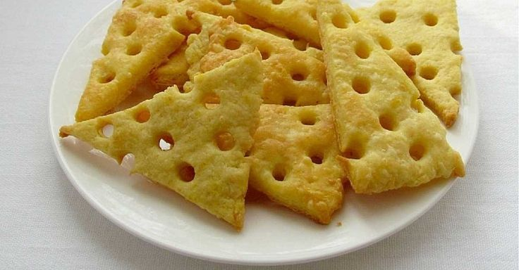 Expresní domácí sýrové krekry