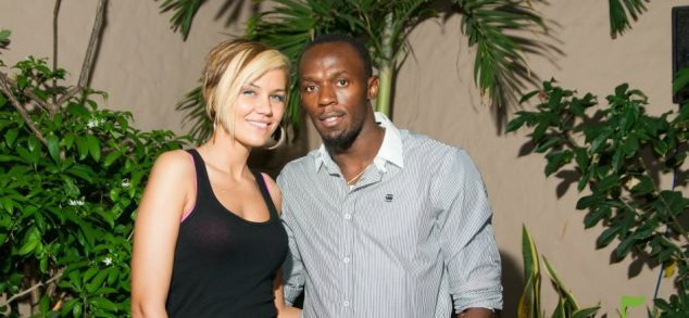 Usain Bolt, his fashion designer girlfriend and a very unsporting ...