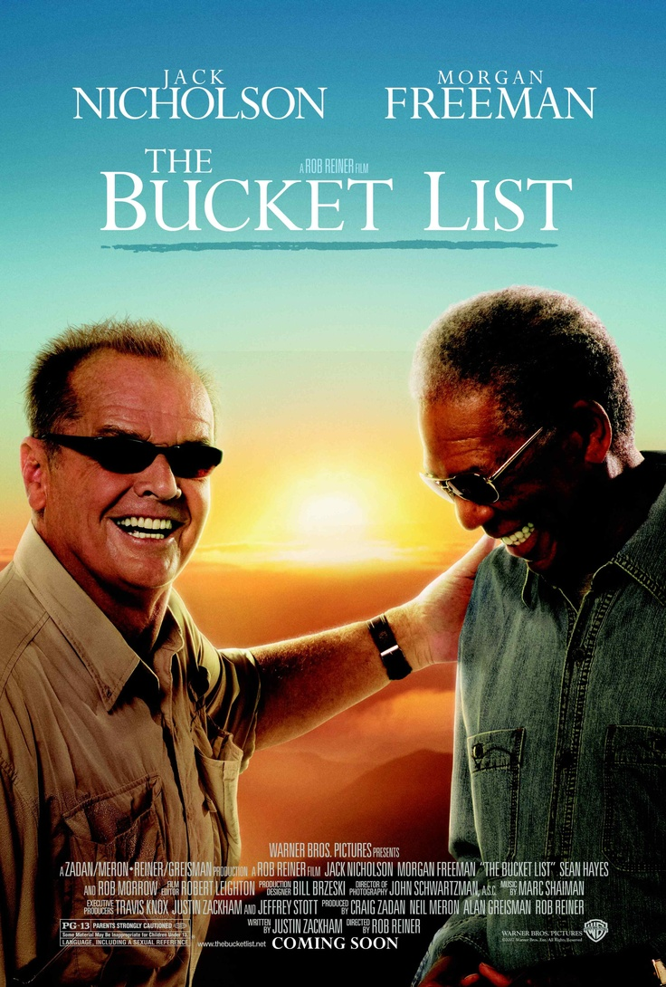 Edward Cole & Carter Chambers' Bucket List (from the movie)