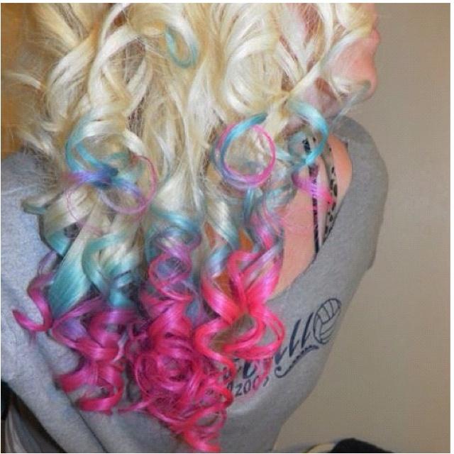 170 Best Coloured Hair Images On Pinterest Coloured Hair
