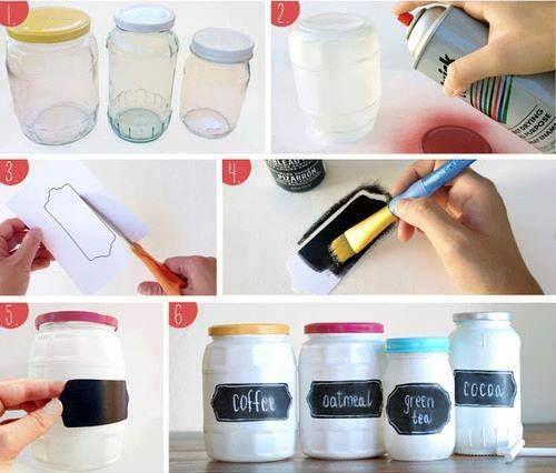 como etiquetar frascos de vidrio - Buscar con Google
