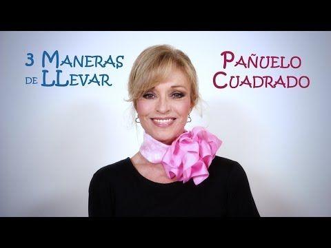 Silvia Comparte tres maneras de llevar un pañuelo cuadrado,ideales para vestir en cualquier ocasion pero a veces no sabemos que hacer con ellos. ¡Compártelo ...