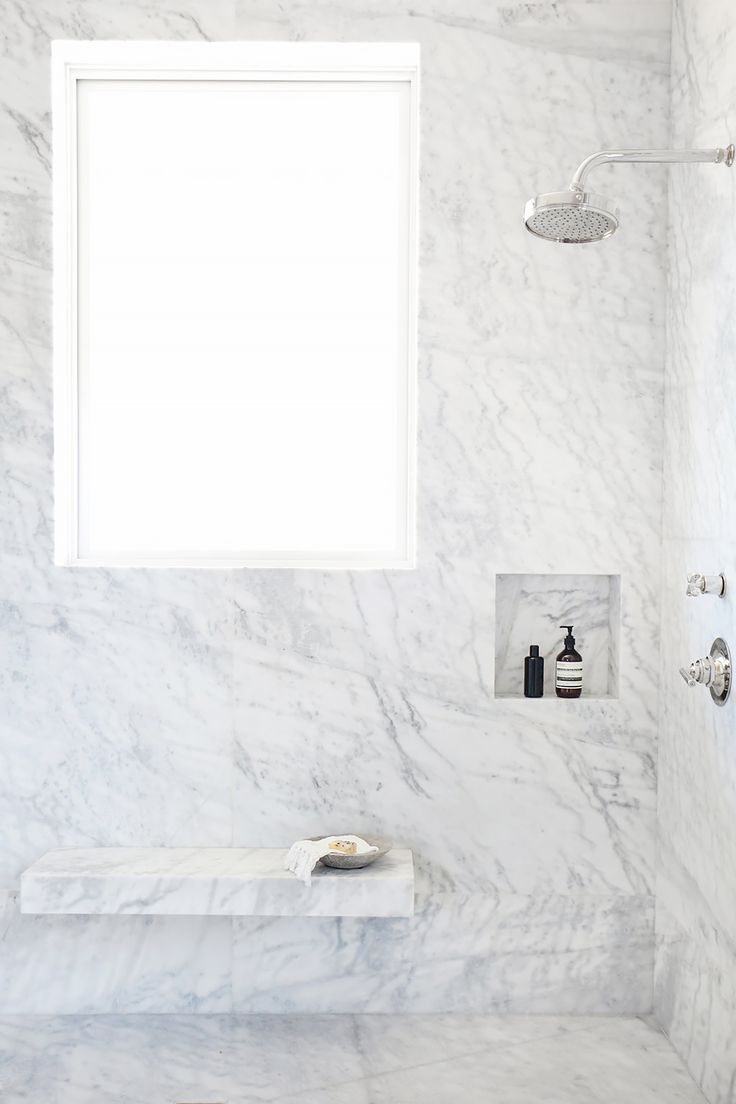 Tour An Interior Designer S Ultra Cool Malibu Farmhouse Marble Showers Bathroom Ideas And