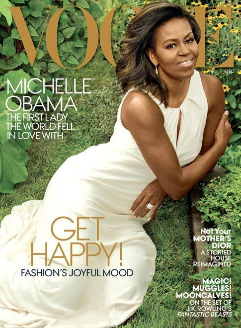 Per salutare la first lady uscente la rivista Vogue America ha deciso di mettere in copertina 'The mom in chief' in versione 'celebrity'. Del resto era stato il primo magazine a dedicarle una cover appena fu eletto suo marito presidente degli Stati Uniti. Michelle Obama appare in splendida forma, co…