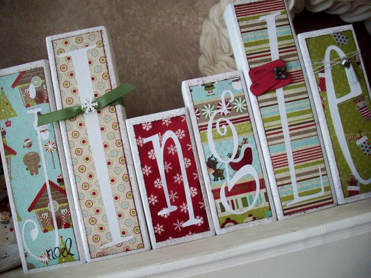 Wood Block Craft Ideas ~ Best images about and wood christmas crafts on