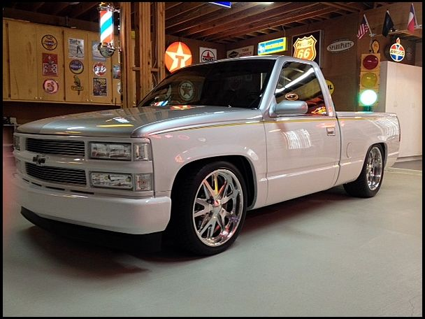 1995 Chevrolet Silverado Pickup Supercharged 350 Ci 4