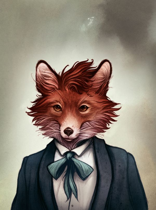 Menagerie by Cory Godbey, via Behance
