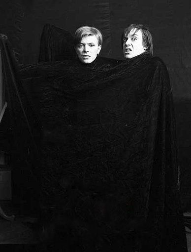 Bowie and Iggy pop