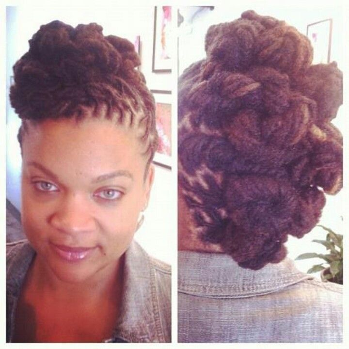 Brilliant 1000 Images About Loc Updo On Pinterest Short Hairstyles Gunalazisus