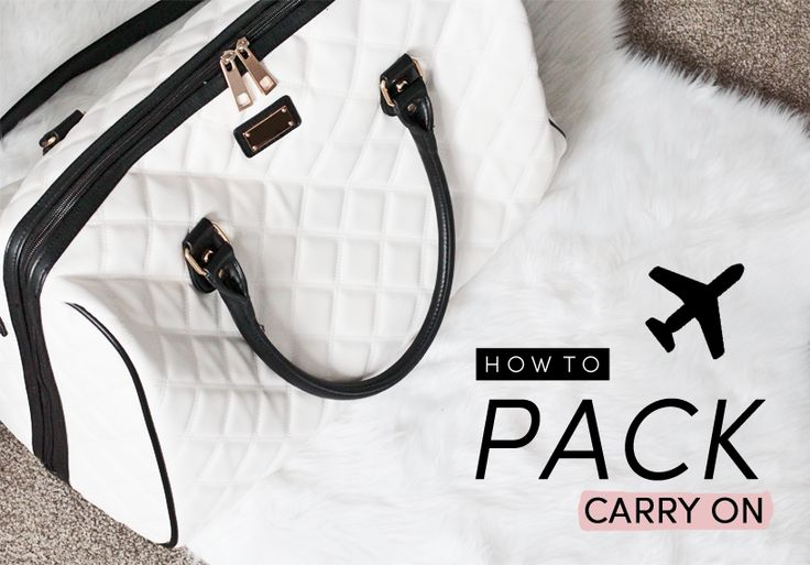 How To | Pack Carry On