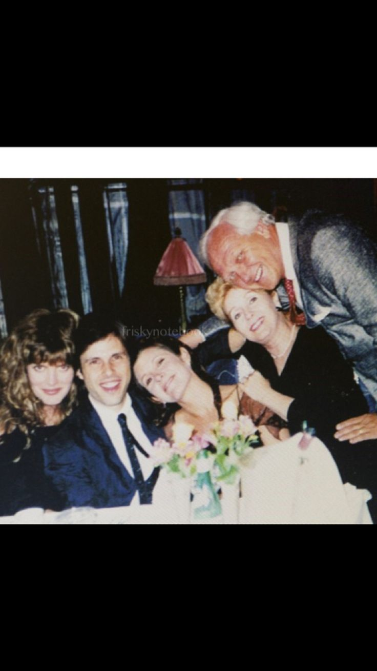Renee Russo, Todd Fisher, Carrie Fisher, and Debbie Reynolds