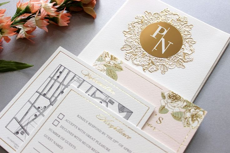 Vinas invitation. Gold emboss. Gold font. White gold classic. Classic invitations . Gold embossed .embossed invitation. Simple classic. Sydney wedding. Australian wedding. Any question pls visit www.vinasinvitation.com. courtesy of Peter and Nicole