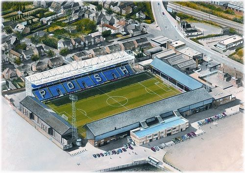 London Road in Art, home of Peterborough United F.C.  A nice dinner event at Xmas door!